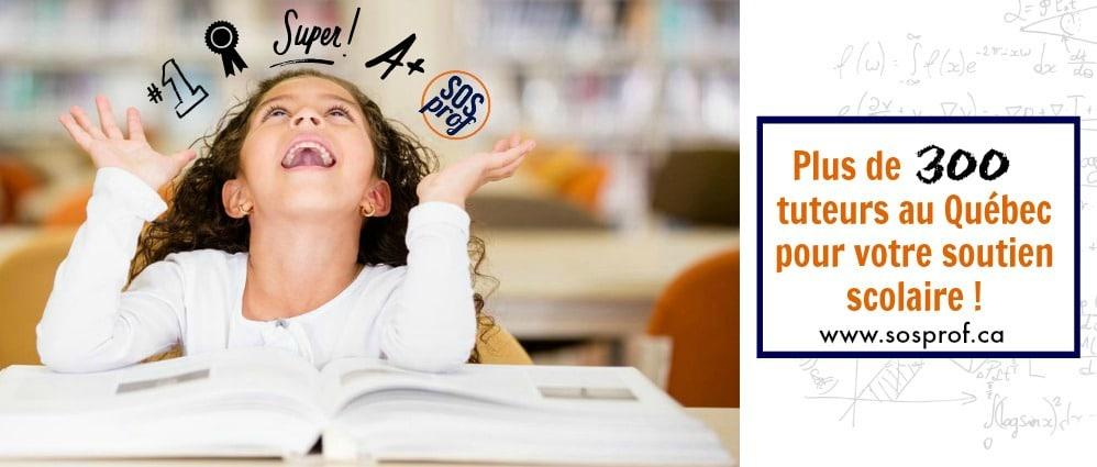 SOSprof tutorat et aide aux devoirs