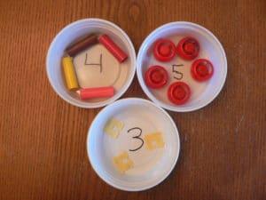 Jouer avec les chiffres de 1 à 10
