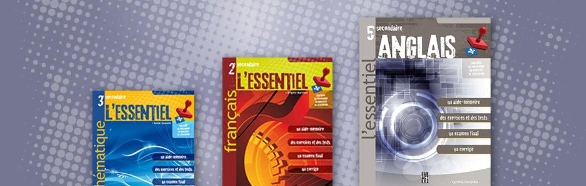 Cahier d'exercices l'Essentiel tutorat SOSprof SOSteacher