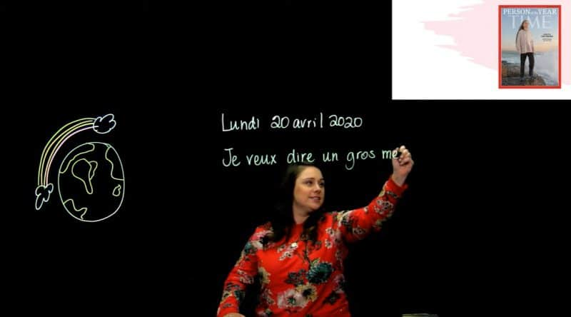 La classe de Marie-Ève Lévesque Youtube blogue SOSprof