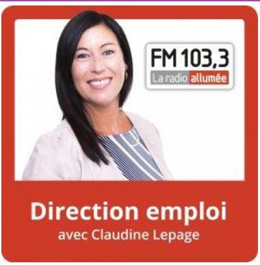 Direction emploi entrevue à la radio avec Claudine Lepage et Chantale Alvaer de SOSprof